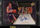 2007 Exquisite Collection Number Pieces Steve Nash AUTO PATCH JSY # 13 13 (PWCC)