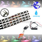 4 Pcs 145mm Motors Exterior Wheel RGB LED Lighting Strips For 701 Supermoto
