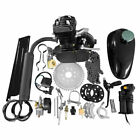 Motor 2 Stroke 50cc Petrol Gas Engine Kit For Motorized Bicycle Bike Black