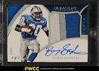 2015 Immaculate Collection Premium Platinum Barry Sanders AUTO PATCH 1 1 (PWCC)