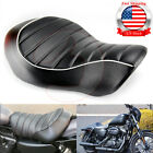 Driver Solo Seat Stripes Cushion Front For Harley Sportster 883 XL1200 2005 2013