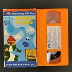Blues Clues All Kinds of Signs VHS 2001 Tested Plays Great