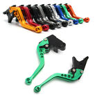 Short/Long Brake Clutch CNC Levers Fit For Kawasaki ZZR600 ZX6R ZX9R ZX10R ZX12R