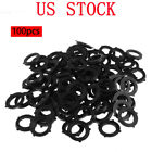 100Pcs Garden Hose Washers Rubber O Ring Seals Self Locking Tabs for 3 4 Faucet