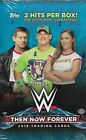2019 Topps Then Now Forever Sealed Hobby Box WWE