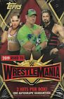 2019 Topps Road To Wrestlemania Sealed Hobby Box WWE