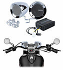 Memphis Audio Motorcycle Audio System w/ Chrome Handlebar Speakers For Honda F6C