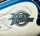 Pair 2001 Harley FXDWG Dyna Wide Glide Gas Tank Decals OEM Part 13612 01 x 2 NEW