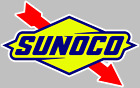 Sunoco Fuel Decal Sticker Choose Size 3M air release BUY 3 GET 1 FREE Laminated