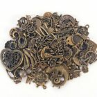 Vintage 50g pack Jewelry Making Mixed Charms Pendants Random Shape DIY Crafts