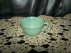 vtg Fire King Jadeite Jane Ray Coffee/Tea cup *Replacement* oven ware #12 usa