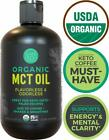 Island Fresh Organic MCT Oil for Keto Diet Made from 100 Organic Coconuts