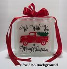 We wish you a Merry Christmas old truck Vinyl Decal Sticker crafts for 8 blo