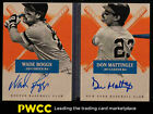 2013 Panini America's Pastime Hitters Ink Wade Boggs Don Mattingly AUTO 25 PWCC