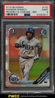 2019 Bowman Chrome Refractor Wander Franco ROOKIE RC 499 #100 PSA 9 MINT (PWCC)