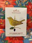 HALLMARK  2019 ORNAMENT THE BEAUTY OF BIRDS LIMITED EDITION LADY SUMMER TANAGER