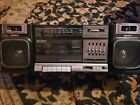 Vintage 80's Boombox Cassette Player Sony CFS-1000 FM/AM Radio Boom Box Tested