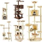 36 52 60 80 Cat Tree Condo Furniture Scratching Post Pet Cat Kitten House
