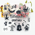 Halloween clear stamps transparent Silicone Seal Stamp For DIY Scrapbooking
