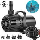 VIVOHOME Electric Submersible Water Pump Pond Pool Fountain Fish Tank Aquarium
