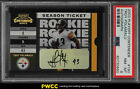 2003 Playoff Contenders Troy Polamalu ROOKIE RC AUTO 989 #190 PSA 8 (PWCC)
