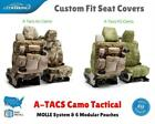 A Tacs Camo Tactical Custom Fit Seat Covers for JEEP WRANGLER TJ