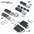1 1 4 Highway Foot Pegs Rest Motorcycle Engine Bars For Harley Honda Goldwing