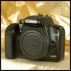 NICE CLEAN BLACK Canon EOS 1000D Digital SLR Camera + charger battery SD card