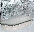 16x32 Oval Above Ground Winter Swimming Pool Solid Cover 20Yr