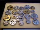 lot of 20 0s-18s pocket watch movements Altered Art Steampunk