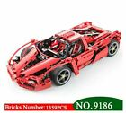 1359pcs Racers Ferrari Enzo Super Car 1:10 Scale Sports Car Model Enzo building