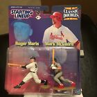 F50 1999 ROGER MARIS MARK MCGUIRE DOUBLE Starting Line Up NIB FREE SHIPPING