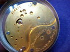 18s Columbus OF pocket watch movement for parts