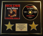 NICK CAVE AND THE BAD SEEDS/CD DISPLAY/LIMITED EDITION/COA/TENDER PREY