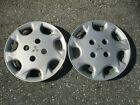 Lot of 2 1994 to 1996 Mitsubishi Expo 14 inch hubcaps wheel covers