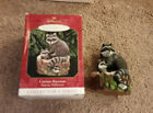 Hallmark Ornament Curious Raccoons 1999 Majestic Wilderness