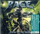 RAGE-SPEAK OF THE DEAD-JAPAN CD BONUS TRACK F50