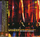 URIAH HEEP-FUTURE ECHOES OF THE PAST-Import 2CD+DVD w/JAPAN OBI I98