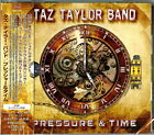 TAZ TAYLOR BAND-PRESSURE & TIME-JAPAN CD BONUS TRACK F25