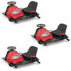 Razor Crazy Cart Electric 360 Spinning Drifting Kids Ride On Go Cart 3 Pack