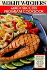 Weight Watchers Quick Success Program Cookbook  Nidetch Jean