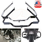 Mustache Engine Crash Guard Bars For Harley Touring Street Glide FLHX 2009-2019