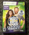 BIGGEST LOSER ULTIMATE WORKOUT XBOX 360 Kinnect Excellent condition