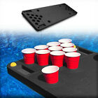 Floating Pool Beer Pong Table Party Durable Black Foam Deflation Proof 6 Feet