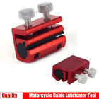 High Quality Motorcycle Bike ATV Cable Lubrication Tool Brake Clutch Luber Red