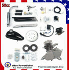 50cc 2 Stroke Motorized Kit Petrol Engine Motor Air cooling For Bicycle Bike NEW