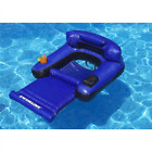Pool Floats With Cup Holders For Adults Inflatable Lounge Chair Home Summer Fun