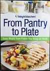 Weight Watchers book FROM PANTRY TO PLATE Points Plan food guide meals recipes