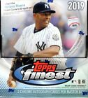 2019 Topps Finest Factory Sealed Hobby Box With (2) Autos On Average
