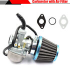 New 1Set Carburetor Carb With Air Intake Filter for 4 Stroke Engine Motorcycle